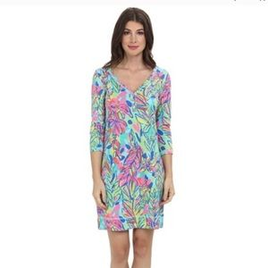 Lilly Pulitzer Palmetto Dress, Multi Hot Spot XS